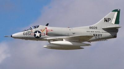 Photo ID 164326 by Joe Osciak. Private Warbirds Heritage Foundation Douglas A 4C Skyhawk, N49WH
