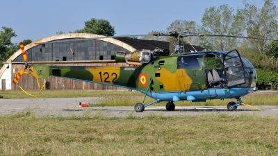 Photo ID 164350 by Peter Terlouw. Romania Air Force IAR 316B Alouette III, 122