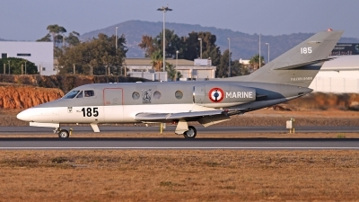 Photo ID 164531 by Fernando Sousa. France Navy Dassault Falcon 10MER, 185