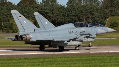 Photo ID 164601 by Rainer Mueller. Germany Air Force Eurofighter EF 2000 Typhoon T, 30 10