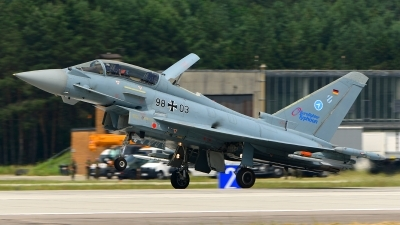 Photo ID 164730 by Stephan Franke - Fighter-Wings. Germany Air Force Eurofighter EF 2000 Typhoon T, 98 03