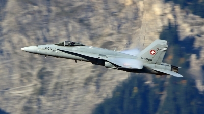 Photo ID 164742 by Isch Eduard. Switzerland Air Force McDonnell Douglas F A 18C Hornet, J 5006