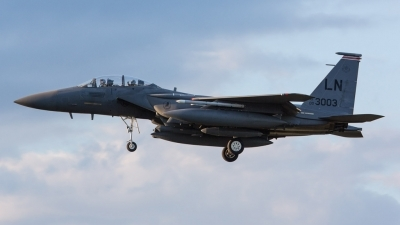Photo ID 165058 by Doug MacDonald. USA Air Force McDonnell Douglas F 15E Strike Eagle, 00 3003