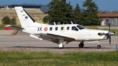 Photo ID 165051 by Roberto Bianchi. France Air Force Socata TBM 700A, 105