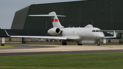 Photo ID 20395 by John Higgins. UK Air Force Bombardier BD 700 Sentinel R1, ZJ690