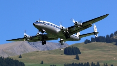 Photo ID 165374 by Ludwig Isch. Private Super Constellation Flyers Lockheed C 121C Super Constellation L 1049F, HB RSC