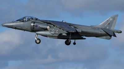 Photo ID 20403 by E de Wissel. UK Air Force British Aerospace Harrier GR7, ZD403