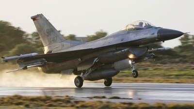Photo ID 165511 by Stamatis Alipasalis. USA Air Force General Dynamics F 16C Fighting Falcon, 91 0417