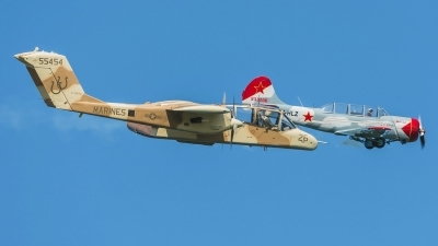 Photo ID 165741 by Martin Thoeni - Powerplanes. Private Association Amicale des Avions Anciens de la Drome North American Rockwell OV 10B Bronco, F AZKM