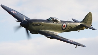 Photo ID 165745 by Chris Hauser. Private Kennet Aviation Supermarine 395 Seafire F17, G KASX