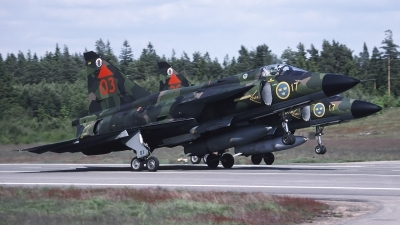 Photo ID 165792 by Chris Lofting. Sweden Air Force Saab JA37 Viggen, 37303