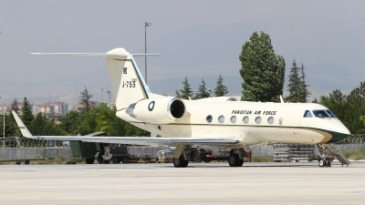 Photo ID 165902 by Paul Newbold. Pakistan Air Force Gulfstream Aerospace G IV SP Gulfstream IV, J 755