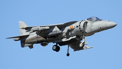 Photo ID 165829 by Fernando Sousa. Spain Navy McDonnell Douglas EAV 8B Harrier II, VA 1B 24