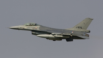 Photo ID 20443 by Frank Noort. Netherlands Air Force General Dynamics F 16AM Fighting Falcon, J 876