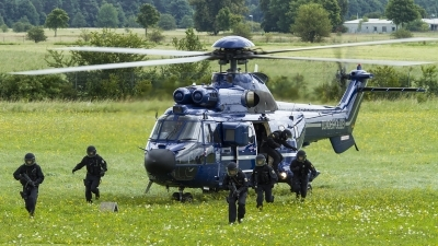 Photo ID 165981 by Thomas Ziegler - Aviation-Media. Germany Bundespolizei Aerospatiale AS 332L1 Super Puma, D HEGM