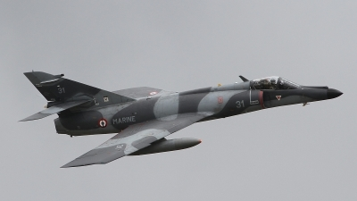 Photo ID 165934 by Paul Newbold. France Navy Dassault Super Etendard, 31