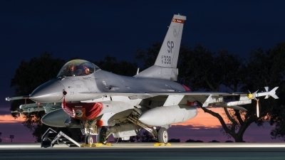 Photo ID 166033 by Marco Casaleiro. USA Air Force General Dynamics F 16C Fighting Falcon, 91 0338