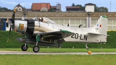 Photo ID 166106 by Christoph Nobs. Private Private Douglas A 1D Skyraider AD 4NA, F AZHK