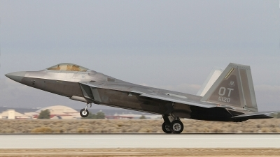 Photo ID 166084 by Paul Newbold. USA Air Force Lockheed Martin F 22A Raptor, 06 4120