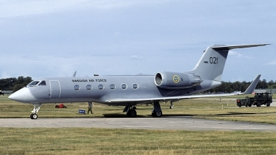 Photo ID 166174 by Joop de Groot. Sweden Air Force Gulfstream Aerospace Tp102A Gulfstream IV, 102001