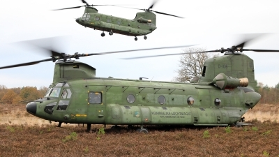 Photo ID 166327 by Jimmy van Drunen. Netherlands Air Force Boeing Vertol CH 47D Chinook, D 106