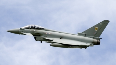 Photo ID 166383 by Joop de Groot. UK Air Force Eurofighter Typhoon FGR4, ZK340