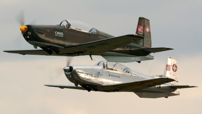 Photo ID 166535 by Sven Zimmermann. Private P 3 Flyers Pilatus P 3 05, HB RCL