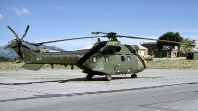 Photo ID 166451 by Joop de Groot. Spain Army Aerospatiale AS 332B1 Super Puma, HT 21 07