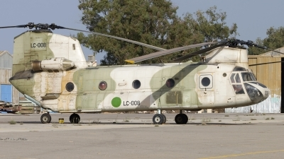 Photo ID 166492 by Chris Lofting. Libya Air Force Boeing Vertol CH 47C Chinook, LC 008