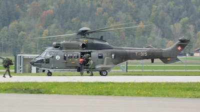 Photo ID 166512 by Sven Zimmermann. Switzerland Air Force Aerospatiale AS 332M1 Super Puma, T 315