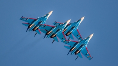 Photo ID 166509 by Sylwia Tylkowska. Russia Air Force Sukhoi Su 27S, 08 BLUE