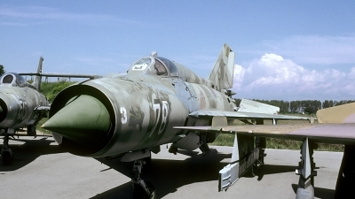 Photo ID 166609 by Joop de Groot. Bulgaria Air Force Mikoyan Gurevich MiG 21PFM, 78