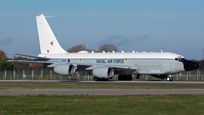 Photo ID 166656 by Ashley Wallace. UK Air Force Boeing RC 135W Rivet Joint 717 158, ZZ665