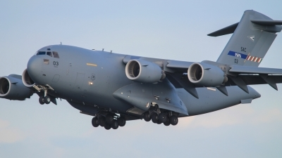 Photo ID 167161 by Rick van Engelen. NATO Strategic Airlift Capability Boeing C 17A Globemaster III, 08 0003