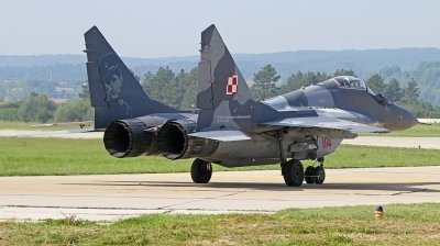 Photo ID 166840 by Tobias Ader. Poland Air Force Mikoyan Gurevich MiG 29A 9 12A, 114