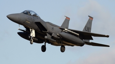 Photo ID 20551 by Stuart Thurtle. USA Air Force McDonnell Douglas F 15E Strike Eagle, 91 0326