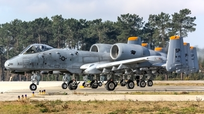 Photo ID 167007 by Marco Casaleiro. USA Air Force Fairchild A 10C Thunderbolt II, 81 0981
