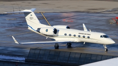Photo ID 167214 by Christoph Nobs. Sweden Air Force Gulfstream Aerospace Tp102A Gulfstream IV, 102001
