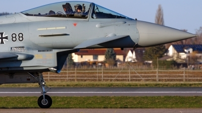 Photo ID 167234 by Mathias Grägel - GME-AirFoto. Germany Air Force Eurofighter EF 2000 Typhoon S, 30 88