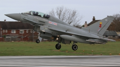 Photo ID 167334 by Ian Nightingale. UK Air Force Eurofighter Typhoon T3, ZK303