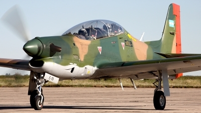 Photo ID 167421 by Carl Brent. Argentina Air Force Embraer EMB 312A Tucano, E 119