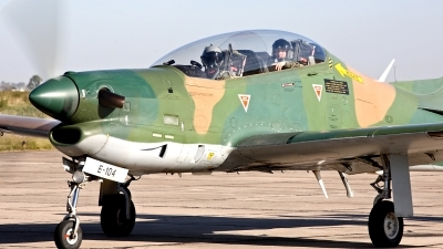 Photo ID 167356 by Carl Brent. Argentina Air Force Embraer EMB 312A Tucano, E 104