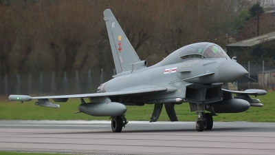 Photo ID 167398 by Ian Nightingale. UK Air Force Eurofighter Typhoon T3, ZK303