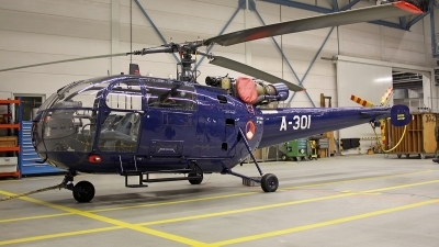Photo ID 167417 by Mark Broekhans. Netherlands Air Force Aerospatiale SA 316B Alouette III, A 301