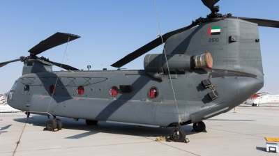 Photo ID 167671 by Andreas Zeitler - Flying-Wings. United Arab Emirates Air Force Boeing Vertol CH 47F Chinook, 2510