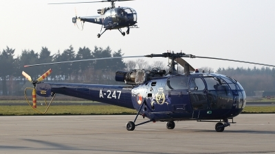 Photo ID 167840 by Carl Brent. Netherlands Air Force Aerospatiale SA 316B Alouette III, A 247