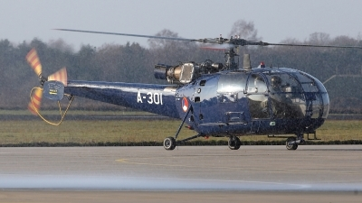 Photo ID 167794 by Carl Brent. Netherlands Air Force Aerospatiale SA 316B Alouette III, A 301