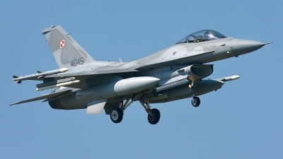 Photo ID 167839 by Rainer Mueller. Poland Air Force General Dynamics F 16C Fighting Falcon, 4045