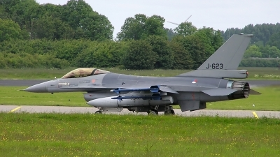 Photo ID 168011 by Johannes Berger. Netherlands Air Force General Dynamics F 16AM Fighting Falcon, J 623