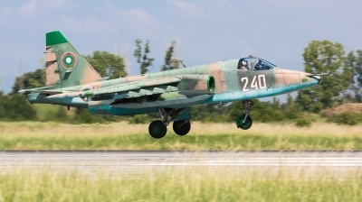 Photo ID 167977 by Andreas Zeitler - Flying-Wings. Bulgaria Air Force Sukhoi Su 25K, 240